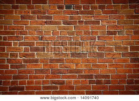 Verwitterte gebeizt alt Brick wall Hintergrund