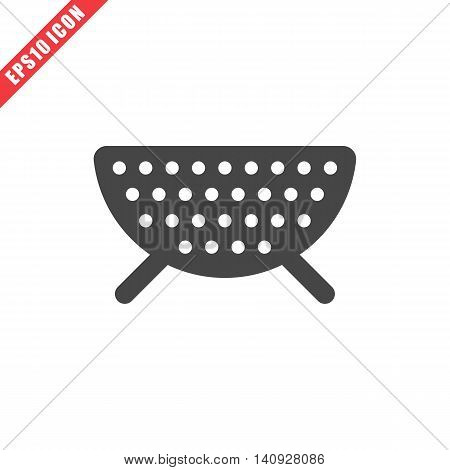 Vector Illustration Of Colander Icon