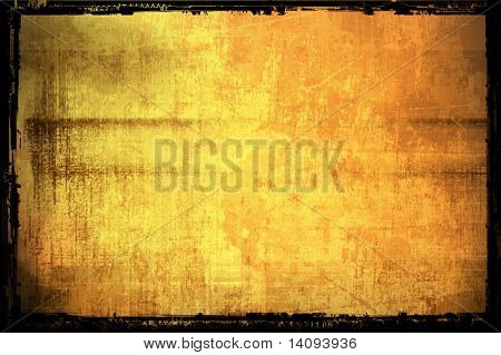 Abstract gold Background, Frame