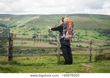 Hiking Activity With Child