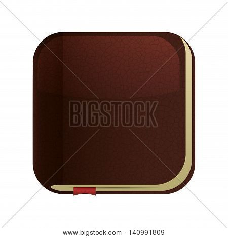 bible book god belief religion hope icon. Isolated and flat illustration. Vector graphic