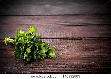 Herbs On The Table