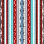 Ethnic boho seamless pattern. Tribal art print. Indian traditional ornament. Colorful border background texture. Fabric, cloth design, wallpaper, wrapping poster