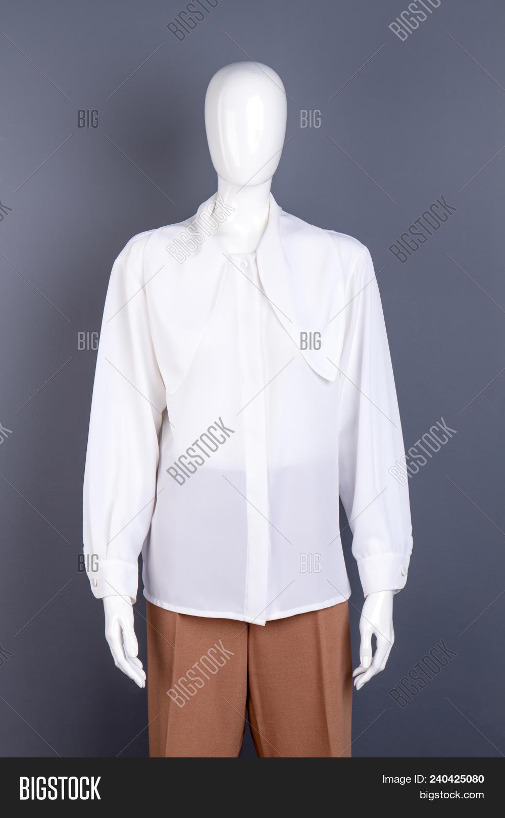 9cb2fe799e9 Long Sleeve Chiffon Blouse Outfit