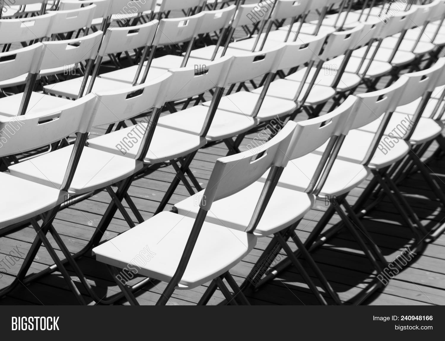 Prime Rows White Empty Image Photo Free Trial Bigstock Caraccident5 Cool Chair Designs And Ideas Caraccident5Info