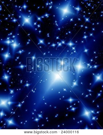 Beautiful abstract design cosmos illustration. Vector image poster