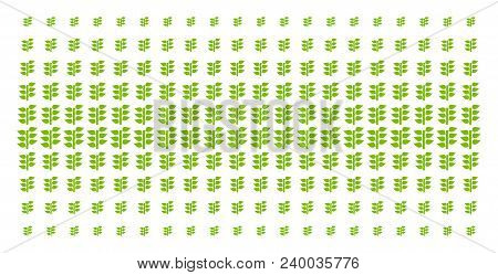 Flora Plant Icon Halftone Pattern, Designed For Backgrounds, Covers, Templates And Abstract Composit