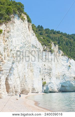 Vignanotica, Apulia, Italy - Visiting The Chalk Cliffs Of Vignanotica