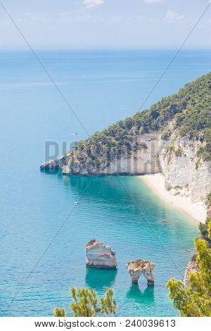 Grotta Smeralda, Apulia, Italy - Lovely Beach Scenery At The Grotto Of Smeralda