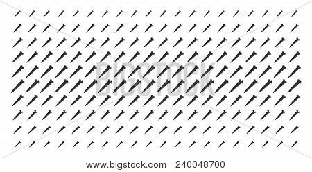 Screw Icon Halftone Pattern, Designed For Backgrounds, Covers, Templates And Abstract Compositions.
