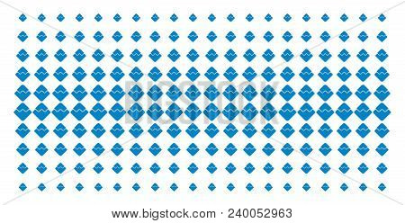 Waves Currency Icon Halftone Pattern, Constructed For Backgrounds, Covers, Templates And Abstract Ef