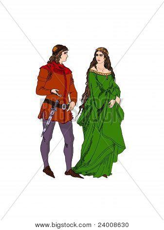 Medieval Lovers.