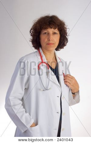 Female Mature Doctor