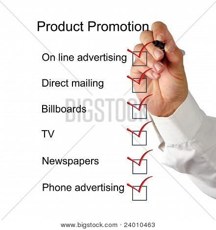 Product Promotion Checklist