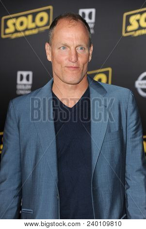 Woody Harrelson at the premiere of Disney Pictures and Lucasfilm's 'Solo: A Star Wars Story' held at the El Capitan Theatre in Hollywood, USA on May 10, 2018.