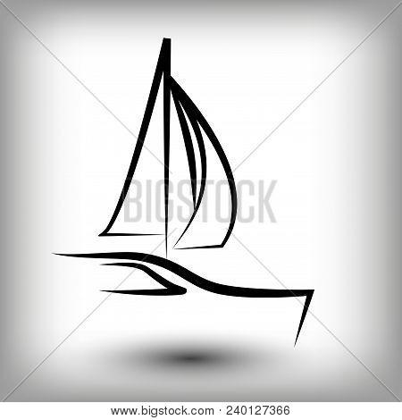 yacht logo templates vector photo free trial bigstock