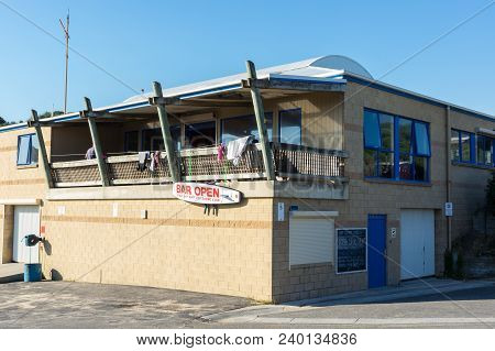 Venus Bay, Australia - January 27, 2018: Venus Bay Surf Life Saving Club Is A Community Organisation