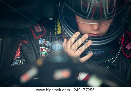 May 04, 2018 - Dover, Delaware, USA: Cole Custer (00) gets ready to practice for the OneMain Financial 200 at Dover International Speedway in Dover, Delaware.