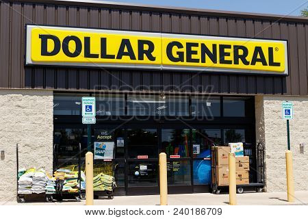 Peru - Circa May 2018: Dollar General Retail Location. Dollar General Is A Small-box Discount Retail