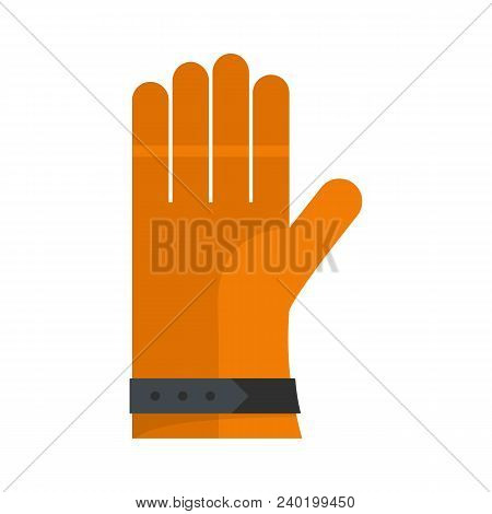 One Glove Icon. Flat Illustration Of One Glove Vector Icon For Web
