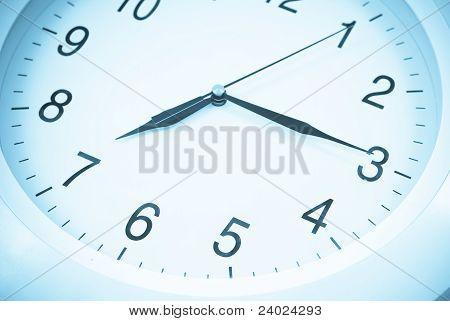 7:15 On Clock Face