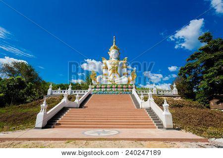 Buddha Sculpture In Krabi Thailand