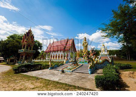 Buddhist Temple In Krabi Thailand