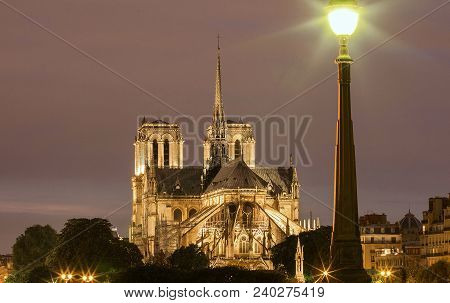 The Notre Dame Is Historic Catholic Cathedral, One Of The Most Visited Monuments In Paris, Considere