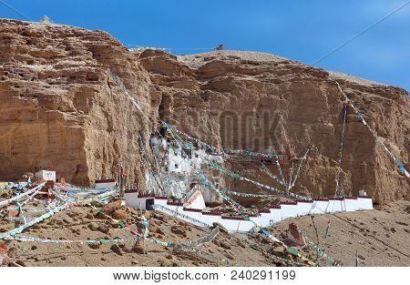 Famous Gurugyam Bon Monastery In Guge Kingdom, Western Tibet, China