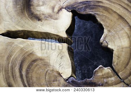 Beautiful Old And Ancient Natural Wood Surface, Stock Photo
