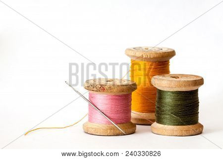 Old Wooden Coils.