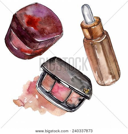 Fashionable Accessories Sketch Fashion Glamour Illustration. Sketch Fashion Glamour Illustration. Aq