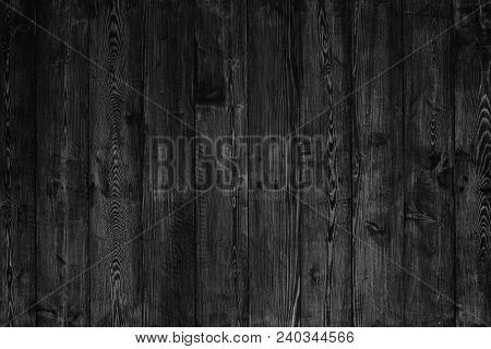 The Black Wood Board Use For Background