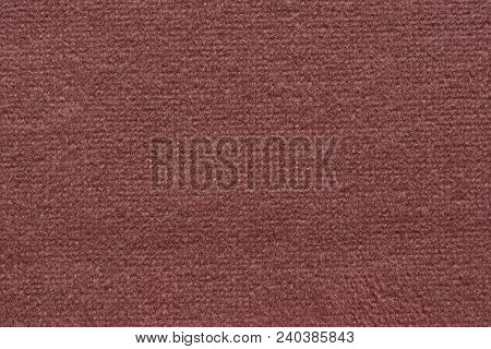 Saturated Textile Background In Lush Violet Tone. High Resolution Photo.