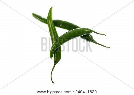 Green Cayenne Pepper Is A Type Of Capsicum Annuum. It Is The Immature Cayenne Pepper And Is Usually