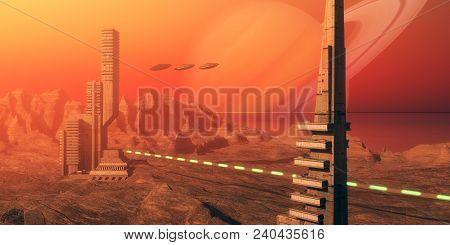 Titan Moon Habitat