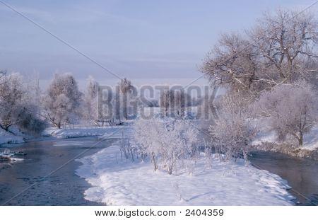 Poudre River Winter
