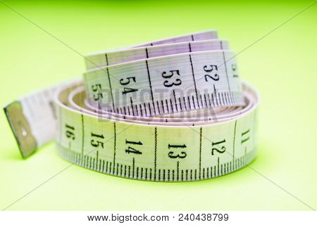 Measuring Tape of the Tailor for you Design, Shallow Dept of Field