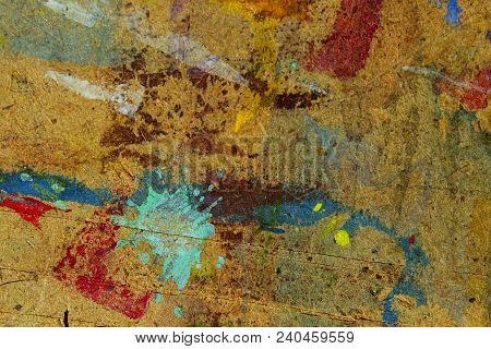 Abstract Painted Background. Colored Painted Wooden Texture. Painted Wooden Texture Background.wall
