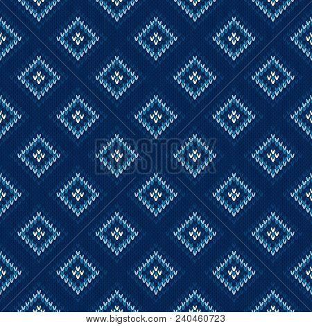Argyle Knitting Vector Photo Free Trial Bigstock