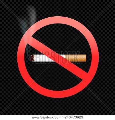 No Smoking Symbol Vector Photo Free Trial Bigstock