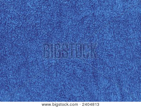 Cloth, Fuzzy Blue Towel Texture