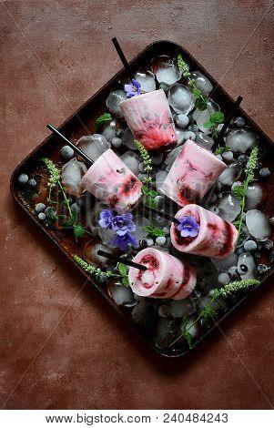 Homemade, Homemade Food, Blueberry, Milk, Gelato Cup, Gelato Italy, Gelato Ice Cream, Sour, Yoghurt,