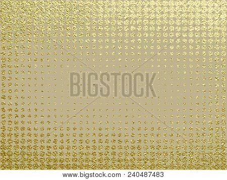 Gold Texture. Metal Pattern. Abstract Gold Background