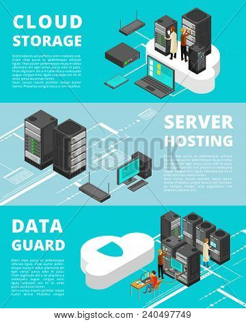 Business Data Protection. Network Equipment And Telecommunications. Server Database Storage, Data Ce