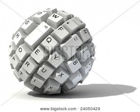 bola de teclado Resumo