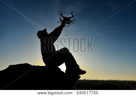 Hobby Drone Usage;media Work And Drone Pilot