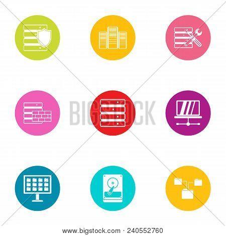 Technical Instrument Icons Set. Flat Set Of 9 Technical Instrument Vector Icons For Web Isolated On