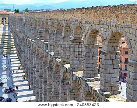 The Aqueducts Of Segovia Are The Most Well Preserved Aqueducts In All Of Spain