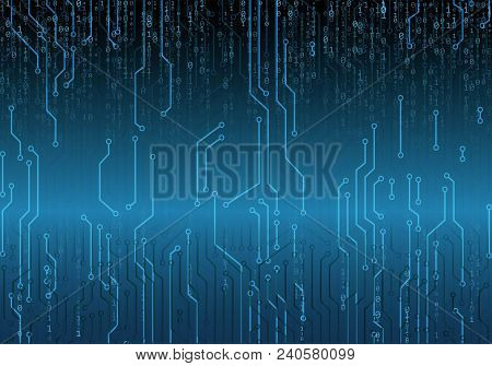Abstract Technology Background. Web Developer. Computer Code. Programming. Coding. Hacker Concept. G